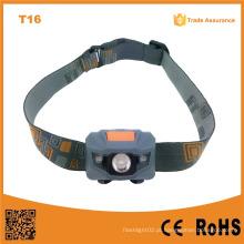 T16 Promoção nova com 4 LED de brilho 2PCS Red LED + 1W High Power LED farol vermelho para militares