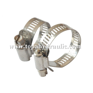 wire exhaust screw aluminum pipe clamp