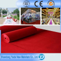 100% Polyester Coated Film Exhibition Carpet