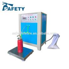 machine de remplissage automatique de poudre / machine de remplissage d'extincteur / machine de remplissage d'azote d'extincteur