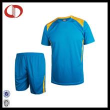 100% poliéster de alta qualidade profissional Soccer Jersey