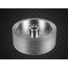 Roue à anneaux à piston à diamant électrostatique