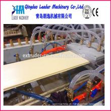 Máquina da produção do painel de teto do PVC de 595mm * 595mm * 7mm com a máquina de carimbo quente