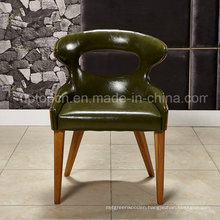 Comfortable PU Leather Dining Chair with Wood Frame (SP-HC063)
