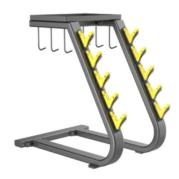 Commercial Fitness Equipment Handle Rack