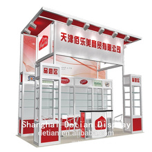 Aluminum square extruction exhibition booth , standard booth with wood panes on wall,shell scheme booths Aluminum square extruction exhibition booth 3x6,standard booth with wood panes on wall,shell scheme booths from guangzhou