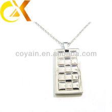 china alibaba Stainless Steel Jewelry pendant, custom men's silver pendant