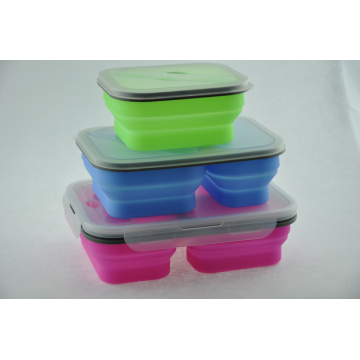 Micro-wave Safe Silicone PP Lunchbox Kom Seal Voedsel Container
