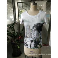 T-shirt de charme pour femmes