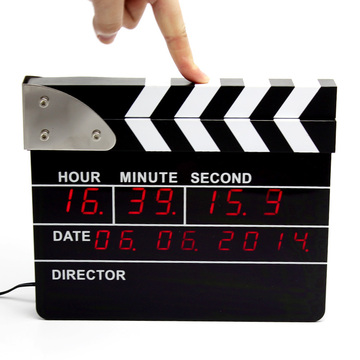 Les réveils Big Movie Clapper