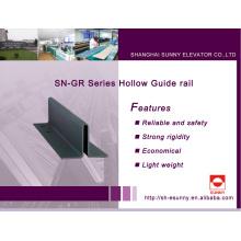 Trilho de guia oco para elevador (SN-GR)