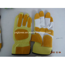 Leather Glove-Industrial Glove-Safety Glove-Work Glove-Gloves-Cheap Glove