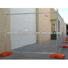 Hot-dipped galvanized Temporary wire mesh fencing