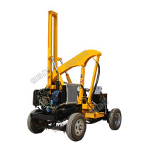 HW brand Piling Driving And Pulling Deep Drilling Hole Hydraulic Guardrail Pile Driver