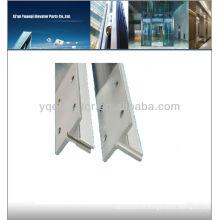 Rail de guidage d'ascenseur, rail de guidage d'ascenseur de type T