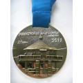 Специальная медаль за эмаль прямоугольного сплава цинка с лентой