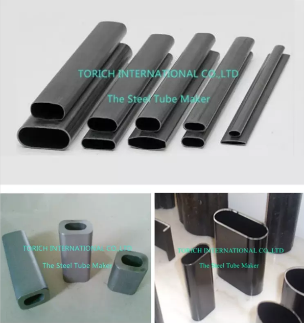 carbon steel Oval tube