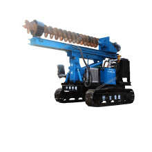 Full hydraulic drop hammer pile driver mini electric ground screw pile driver for sale