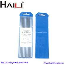 WL20 3.2mmx175mm Blue Tip Tig Welding Tungsten