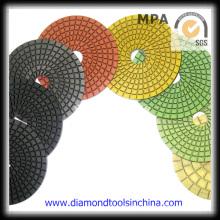 Diamond Convex Polishing Pads for Marble Granite