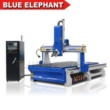 Jinan Blue Elephant 1530 4 Axis CNC Milling Machine Router for Wood Aluminum Foam