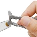 Titanium Shark EDC Tool Carabiner with bottle opener