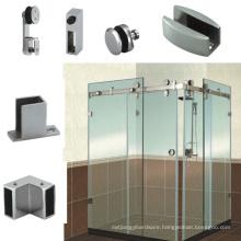 90 Degree D Series Glass Shower Enclosure