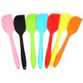 utensílios de cozinha em forma de faca espátula de silicone para creme
