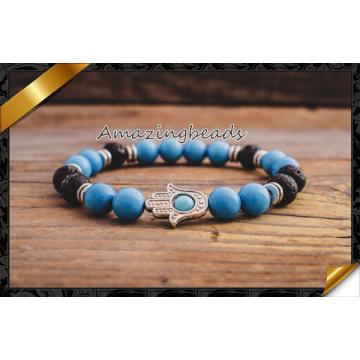 New Design Wholesale Blue Turquoise Women Bracelets (CB053)