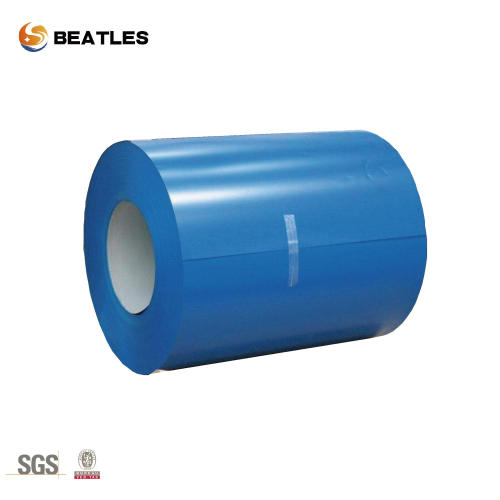 0.18 * 1500mm Prepainted PPGL Color Coated Metal Roofing Sheet