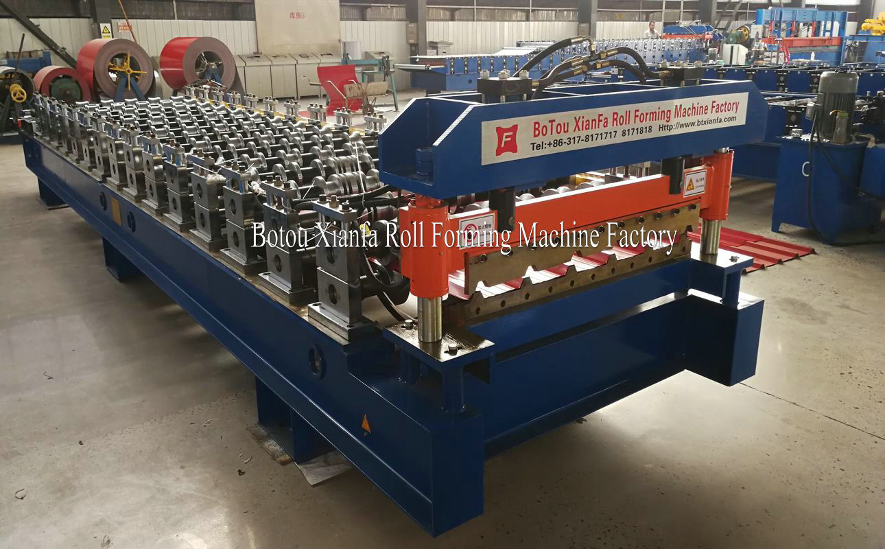 IBR Panle Roll Forming Machine