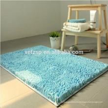 Fábrica antibacteriana de la alfombra de la estera de la manta del piso de Chenille