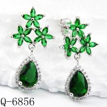 Dernières Styles boucles d'oreilles 925 bijoux en argent (Q-6856)