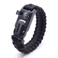 Best paracord survival bracelet with flint