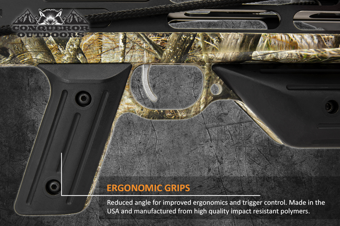 Mission Crossbow Sniper Lite Grip Detail with Text
