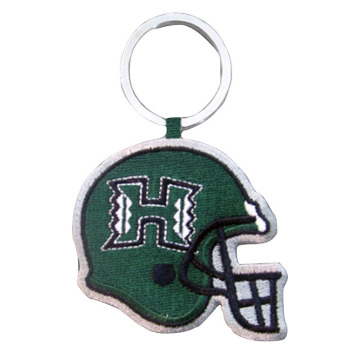 University of Hawaii Football Bordir Keychain