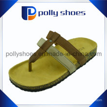 High Quality Brand Copy Women Cork Flip Flop
