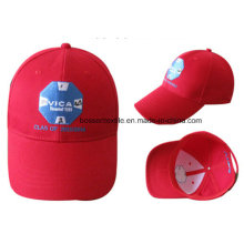 Promotion Custom Red Embroidery Adjustable Baseball Cap Sun Cap Travel Cap Outdoor Sport Hat