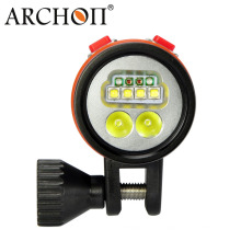 CREE LED 2600 Lúmenes de luz submarina de vídeo LED Flash Lights