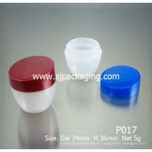 5g jarras de PP jarras cosméticas baratas