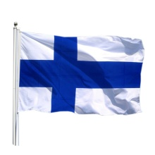 National Custom Finnland Flagge