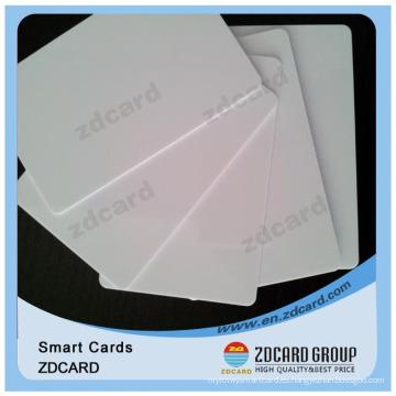 2016 nueva tarjeta de PVC en blanco de la moda tarjeta de plástico de la tarjeta VIP de identificación de la tarjeta