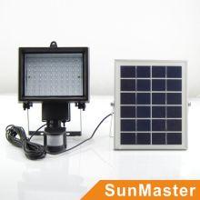 Solar-Flut-Plakat im Freien mit Motion PIR Sensor