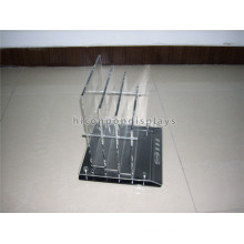 Custom Design Bed Sheet Retail Store Pure Acrylic Table Top Commercial Advertising Product Display