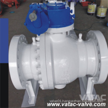 Cast Steel Wcb, Wcc, Lcb, Lcc Trunnion Ball Valve with RF or Bw