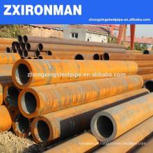 Peso de unidade de preço de pilar aço tubos/tubulação hidráulico