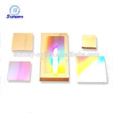 Offre d'usine holographique concave verre optique caillebotis 30mm carré