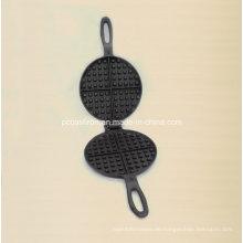 Gefaltete Gusseisen Kuchenform Sizzler Clip aus China Factory