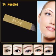 Kupfer PCD Augenbraue Permanent Make-up Nadeln