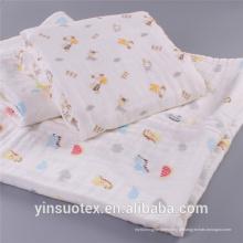 Respiração livre cobertor tecido tecido atacado bebê cobertor